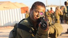 Beautiful women of the IDF with political commentary on events in Israel.