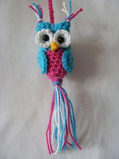 Crochet owl ~ free pattern