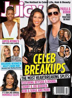 Paula Patton, Robin Thicke, Lupita Nyong'o, Beyoncé, Kelly Rowland and Nia Long cover the May/June 2014 issue of Juicy magazine.