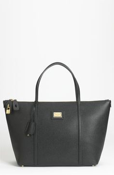 409ba344b8dfe6 Dolce  amp  Gabbana Miss Escape Leather Tote Best Tote Bags