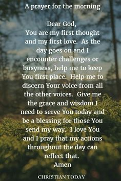 A wonderful prayer - @Beejoloves