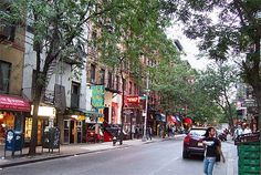"""West Village: """"Probably the most beautiful neighborhood in NY."""" --Anderson"""