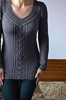 Hanna Maciejewska  |  Moyen Age sweater pattern (next in my queue).    23 sts. - Bottom Up