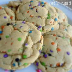 Cake Batter Pudding Cookies   Healthy Recipes and Weight Loss Ideas