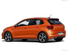 German auto major Volkswagen has unveiled the generation model of the Polo hatch. The new Polo has been completely redesigned. Volkswagen Polo, Volkswagen Models, Best First Car, Hatchback Cars, Bentley Mulsanne, Best Classic Cars, Mini Trucks, Car Posters, Vintage Cars