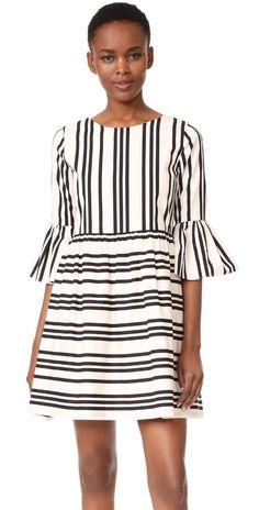 alice + olivia Augusta Ruffle Sleeve Dress   SHOPBOP SAVE UP TO 25% Use Code: GOBIG17