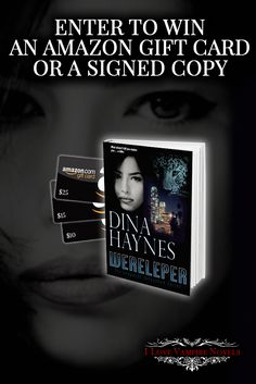 Win up to $25 in Amazon Gift Cards or a Signed Paperback & Swag from Author Dina Haynes http://www.ilovevampirenovels.com/giveaways/win-up-to-50-amazon-gift-cards-author-dina-haynes/?lucky=422292