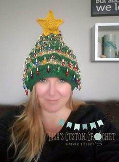 59 Best Christmas Tree Hats Images Christmas Knitting