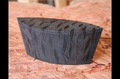 Black box with carving