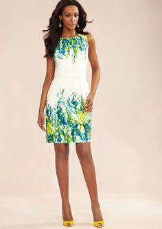 JAYE.E.  Sleeveless Floral Print Dress  $99.99 ideeli - ugh, love so much but too expensive
