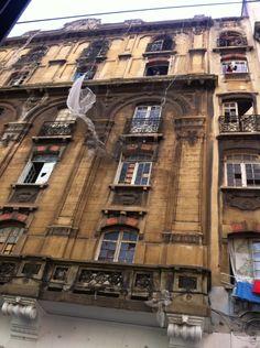 Edifico ocupado no centro de São Paulo.