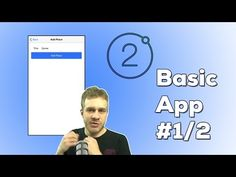 IONIC 2 FULL APP (1/2) THE BASICS | Ionic 2 + Angular to build a full Mobile Application - YouTube