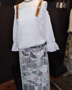 9496ddb5ec Nowości -Piękna bluzka hiszpanka z lnu -MEGA JAKOŚĆ -spódnica tiulowa z  komiksami Nowości ‼