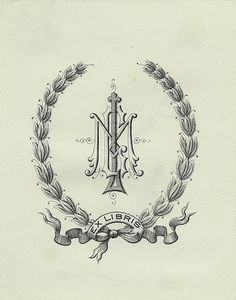 [Bookplate of MGL] by Pratt Libraries, via Flickr