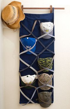 Home Made Hat Rack!