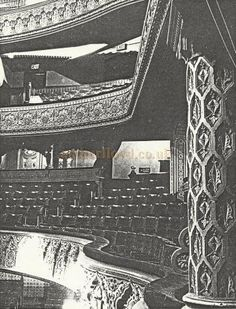 An early photograph of the Leicester Palace auditorium by T. Auditorium, Leicester, Palace, Gate, City Photo, Photograph, England, David, History