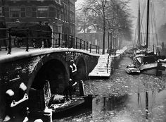 Amsterdam, Brouwersgracht, hoek Prinsengracht.