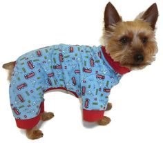 Dog Clothes Sewing Pattern 1749 Sweet Dreams Pajama for the Little Dog on Etsy, $8.25