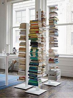 Libreria sapiens sintesi h152 colore bianco | acquista online libreria a colonna sapiens colore bianco