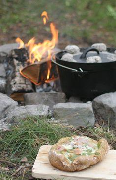 Buiten Bakken - Brood uit de Dutch Oven | Outdoor cooking - Bread from the Dutch Oven