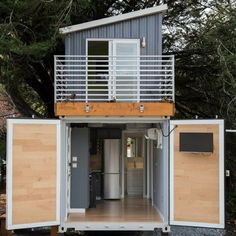 THE O.G.L.E. TINY CONTAINER HOUSE