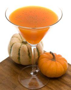 Pumpkin cocktail recipes including a spiked pumpkin hot chocolate!