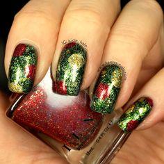 Christmas Tree Nails | Keely's Nails
