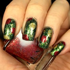 Christmas Tree Nails | Keely's Nails