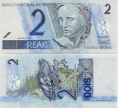 O que há no verso destas cédulas recentes (de 2010) do Real brasileiro, que nos interessa em Biologia e Ciências ?!   Resposta: nossos ani...