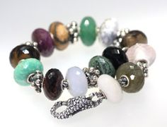 Create a whole bracelet with the faceted stones from Trollbeads!  A natural wonder to enjoy! http://www.trollbeadsgallery.com/categories/Beads/Precious-Stone-/