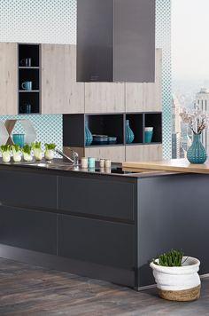 Geometric Look in der Küche