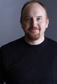 THERE I PINNED IT! I think Louis CK is not only one of the best comedians out there, but I think he's SUPER FOXY! Love me some RED!