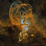 Lo que ocurre en NGC 3582
