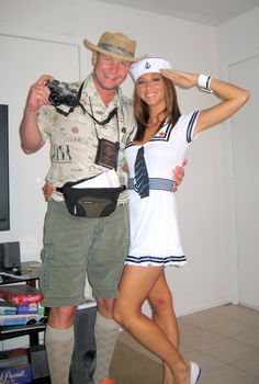 2. 29 Homemade Halloween Costumes (for adults) #diy #crafts www.BlueRainbowDesign.com