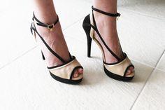 sandalia preta e nude carmen steffens - Juliana e a Moda | Dicas de moda e beleza por Juliana Ali