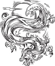 Chinese Dragon Tattoo Designs - Tattoo Art Design Popular Dragon ...