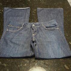 NWOT AMERICAN EAGLE REAL FLARE JEANS NWOT AMERICAN EAGLE  REAL FLARE JEANS Zip Fly Size 12 100% Cotton American Eagle Outfitters Jeans Flare & Wide Leg