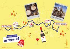 La seizième étape du Tour de France par deux degrés et Mélanie Béguier Roman, Movie Posters, Film Poster, Billboard, Film Posters