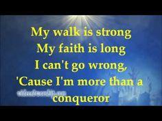 Hezekiah Walker / More Than A Conqueror (Lyrics) #gospel #Romans8