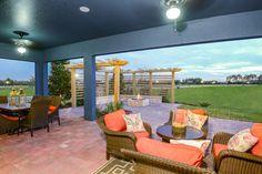 Biscayne II Model LSR floorplan - Outdoor Living