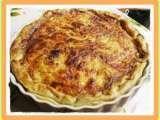Recette Tarte courgettes, saumon fumé et fève tonka par La tite souris - Ptitchef