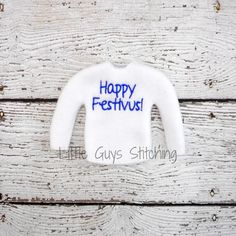 Festivus Sweater Elf Sweater Elf clothes by LittleGuysStitching