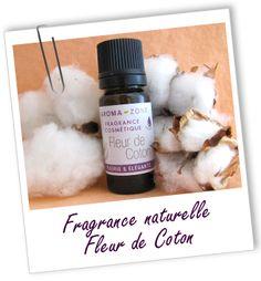 Fragrance cosmétique naturelle Fleur de Coton Aroma-Zone Pour parfumer lessive maison