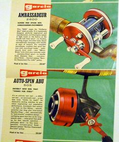Since we work with Abu Garcia, this retro fishing reel ad is top notch in our book.