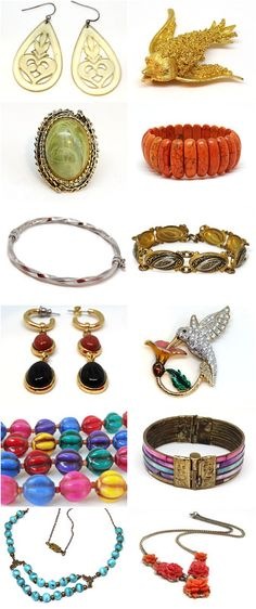 15% Off Holiday SALE - Here are some items from my vintage jewelry shop on etsy