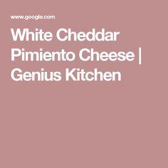 White Cheddar Pimiento Cheese | Genius Kitchen