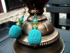 Marocco Crochet Earrings/ Evening Earrings/ Statement by Nimmet