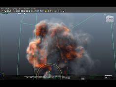 Maya 3D - Dynamic - Fluid Effect - Barrel