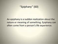 10 Best Epiphany Quotes images in 2015 | Epiphany quotes