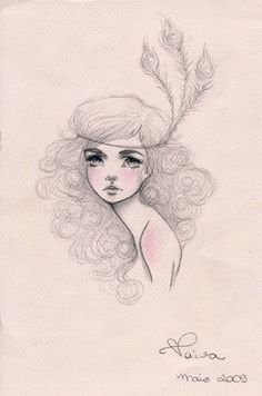 I love pencil drawings like this.